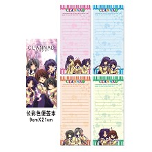 CLANNAD notepads/notebooks(4pcs)