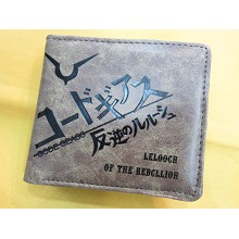 Code Geass pu wallet