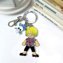One piece sanji key chain XA340