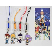 Fate stay night phone straps