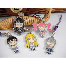 My sister phone straps