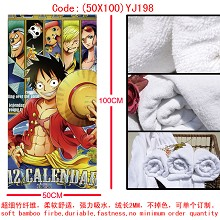 One piece bath towel 50X100 YJ198