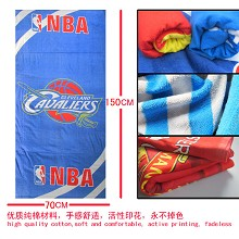 The NBA cleveland cavaliers team logo bath towel 70×150 MYJ026