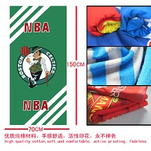 The NBA OLarry Bird team logo bath towel 70×150 MYJ028