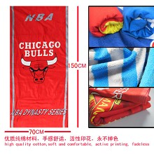 The NBA Chicago Bulls team logo bath towel 70×150 MYJ031