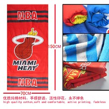 The NBA Miami Heat team logo bath towel 70×150 MYJ032