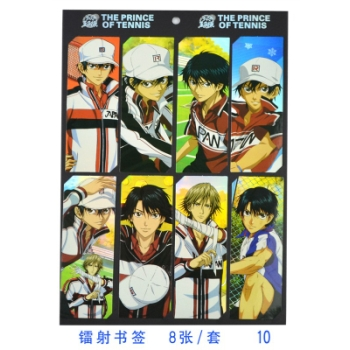The prince of tennis bookmarks(8pcs a set)