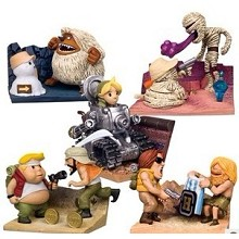 Metal Slug figures