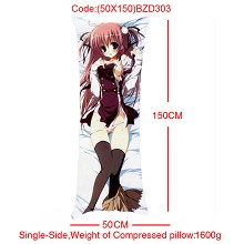 The anime girl single side pillow(50X150)BZD303