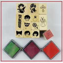 Ao no Exorcist stamp