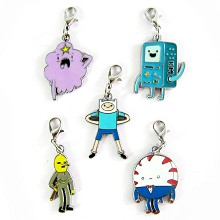 Adventure time key chains set