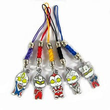 Ultraman phone straps set