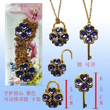 Shugo chara lovers necklaces(purple)