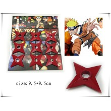 Naruto cos red weapons(9pcs a set)