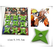 Naruto cos green weapons(9pcs a set)