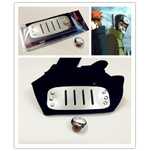 Naruto cos headband+ring