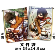 Shingeki no Kyojin documents bag