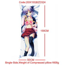 The anime girl single side pillow(50X150)BZD324