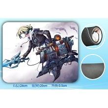Attack on Titan mouse pad SBD1533