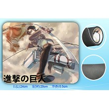 Attack on Titan mouse pad SBD1534