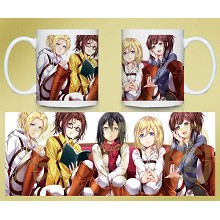 Attack on Titan cup BZ954
