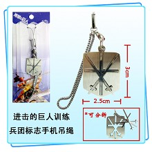 Attack on Titan phone strap
