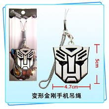 Transformers phone strap