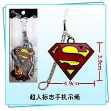 Superman phone strap