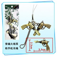 Cross fire phone strap
