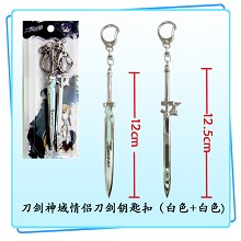 Sword Art Online lovers key chains