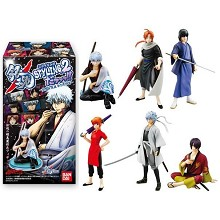 Gintama figures(6pcs a set)