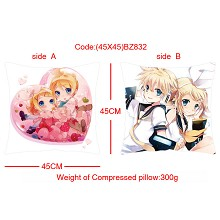 Kagamine double sides pillow(45X45)BZ832