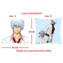 Gintama double sides pillow(45X45)BZ847
