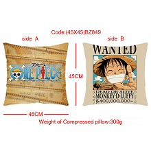 One Piece double sides pillow(45X45)BZ849
