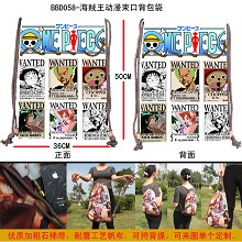 One Piece drawstring bag BBD058