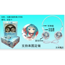 Hatsune Miku headphone