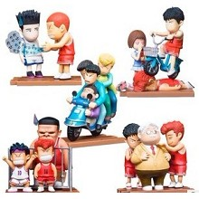 Slamdunk anime figures(5pcs a set)