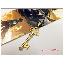 Attack on Titan the key necklace(gold)