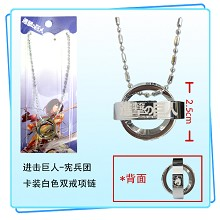Attack on Titan necklace