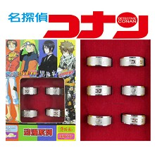 Detective conan 16th rings(6pcs a set)