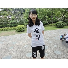 Attack on Titan t-shirt + Middle pants