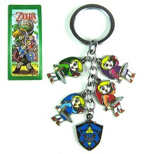 The Legend of Zelda metal key chain