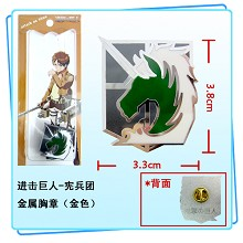 Attack on Titan pin