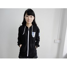 Attack on Titan anime anime hoodie(black)