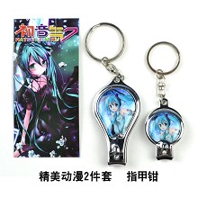 Hatsune Miku nail clippers
