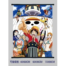 One Piece wallscroll 1945