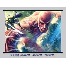 Attack on Titan wallscroll 1966