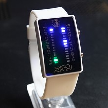 Detective conan 17th white LED watch
