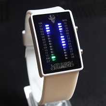 Bleach white LED watch