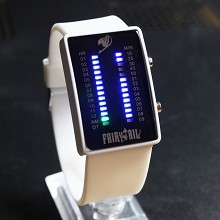 Fairy tail white LED watch